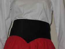 Victorian / Edwardian Style Belt  (Black)