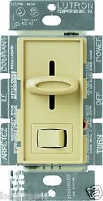 Lutron SLV-603P-IV Skylark 3-Way Magnetic Low-Voltage Dimmer with On/Off