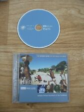 Various Artists - The Rough Guide to the Music of Haiti (15 Track CD) Ex-Lib VGC