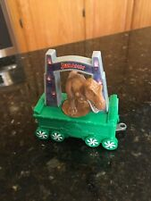 2017 McDonalds Happy Meal Toy HOLIDAY EXPRESS TRAIN #7 Jurassic Park EUC