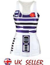 Star Wars R2 D2 robot de impresión Vest de un tamaño 8-12