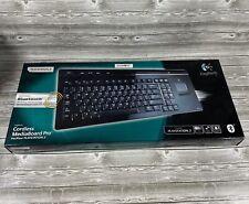 Logitech PlayStation 3 Cordless Media Keyboard Pro Good Working Condition VGC