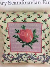 Rosebud Counted Half Cross Stitch 11 count kit - Anette Eriksson