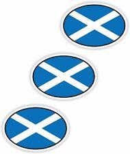 Nationalitätenkennzeichen 3x Scotland Schottland Aufkleber Autoaufkleber