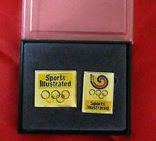 Pin Olympics Atlanta 1996 Vintage Lapel Hat  Pins Sports Illustrated New in Box