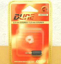 ÄDAPTATEUR AUDIO STEREO Câble Jack 3.5mm 4.5mm DUNE Mâle Femelle Plug