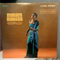 "MIRIAM MAKEBA - Self Titled (RCA LSP-2267) - 12"" Vinyl Record LP - VG+"