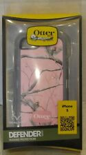 NEW Otter Box Defender Series Realtree Pink w/Trees Case iPhone 5