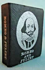 Miniature Romeo and Juliet Book 239 Pages Shakespeares Birthplace Museum 1976