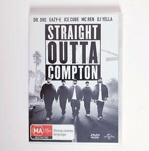 Straight Outa Compton Movie DVD Region 4 AUS Free Postage - Drama Music N.W.A.