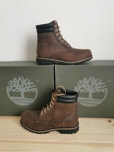 Timberland Classic Foraker 6 Inch Brown Leather Boots Uk 8.5 Eu 43 RRP £155