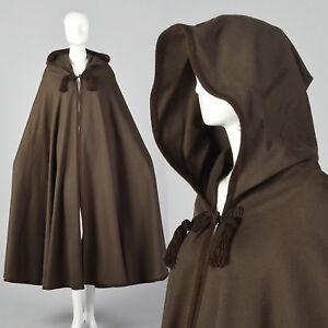 1970s Yves Saint Laurent Winter Cape Russian Collection 1976 VTG Brown Cloak