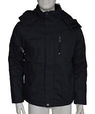ID Denim Chase Black Flint Hooded Jacket Men's Size Medium