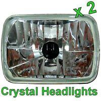 Pair of Crystal H4 Headlamps Toyota Hilux Surf Headlights 4runner 4 runner light