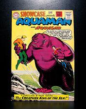 COMICS: DC: Showcase #32 (1961), 3rd SA Aquaman app - RARE