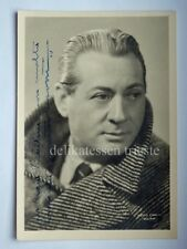 AUTOGRAFO autograph NINO BESOZZI attore teatro cinema pittore foto Ermini Milano