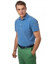 Southern Tide Beachside Polo Shirt Sz M Trim Fit Embroidered Blue Skipjack NWT
