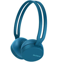 Sony WH-CH400/L Wireless Headphones with Bluetooth, Blue
