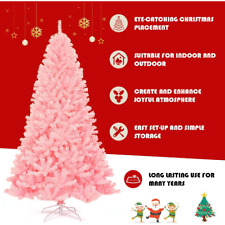 Christmas Trees Artificial with Plastic Support Easy Green Assembly Natural PVC