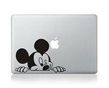 Macbook 13 Inch Decal Sticker Disney Mickey Mouse Peeking Art For Apple Laptop