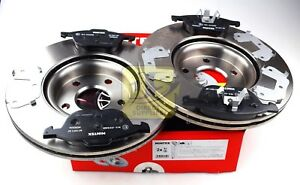 MINTEX FRONT BRAKE SET DISCS, PADS FOR VOLVO FORD MDK0217 (REAL IMAGE OF PART)