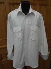 "mens casual shirt S/38"" jack jones exemplary superstylish pristine white 56cm"