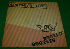 Aerosmith Live! Bootleg Double LP Columbia  PC2 35564 w/Poster Sterling Oop