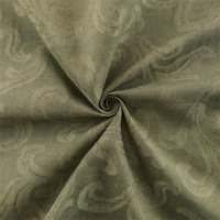 Taupe Gray Renaissance Damask Home Decorating Fabric, Fabric By The Yard