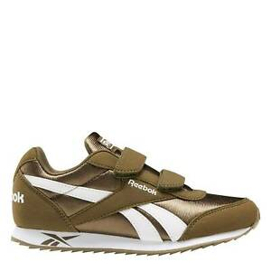Reebok Kids Boys Royal Cl Jog 2 Junior Trainers Runners Strap Casual Everyday