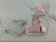 Sanrio Hello Kitty Phone Landline Telephone Caller ID Works