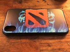 Dota 2 Phone Case Game Logo with Flames Silicone Universal for all Phone Brands