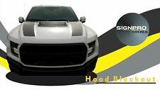Ford F150 Raptor SVT 2017 Hood Blackout Tech Carbon Fiber Decal Kit Sticker