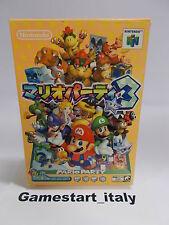 MARIO PARTY 3 - NINTENDO 64 N64 - JAP VERSION - BOXED RARE