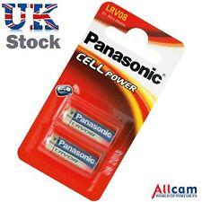2pk: Panasonic lrv08 BATTERIA ALCALINA 12v Micro (e23a, k23a, gp23a, 8lr23, vr22)
