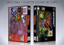 BANJO KAZOOIE. PAL VERSION. Box/Case. Nintendo 64. BOX + COVER. (NO GAME)