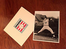 """RARE 1968  JIM PALMER Pitching For Rochester Redwings Action Photo  B/W 8"""" x 10"""""""