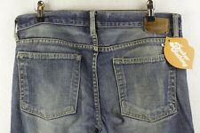 GAP Mens Jeans LOW RISE STRAIGHT Fit DISTRESSED WORKER Zip Fly W32 L36 P81