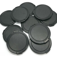 10pcs 49mm Lens Cap Universal Plastic Clip on Camera Front for All DSLR Filter