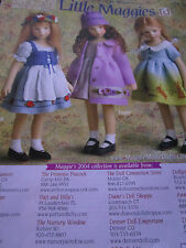 Maggie Iacono LITTLE MAGGIES/ Heidi/Taylor/Elise Doll Advertisement Ad ONLY