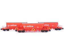 Kuehn 93034 - Güterwagen Kaliwagen Uaoos9331 DB RAILION 3x - Spur N - NEU