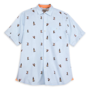 Disney Parks Tommy Bahama Mickey Tropical Vacation Shirt Adult 2XL XXL - NEW
