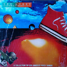 YES NUKES - 14 ATOMIC POWERED CUTS - LOS ANGELES ROCK BANDS - RHINO LP