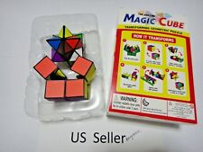 2in1 The Amazing Magic Cube Transforming Geometric Puzzle Brain Teaser US seller
