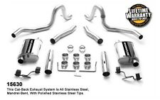 "1986-1993 Ford Mustang 5.0L Magnaflow 2.5"" Cat-Back Dual Exhaust System 15630"