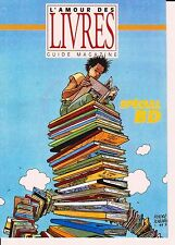 JUILLARD. Carte Postale. L'Amour des Livres 1993. Tirage limité 300 ex. n°