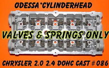 CHRYSLER PT CRUISER  DODGE NEON CARAVAN 2.4 DOHC CYLINDER HEAD VALS&SPRING ONLY