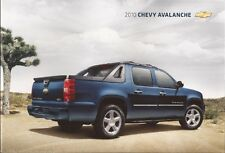 2010 10  Chevrolet Avalanche  original  brochure MINT