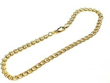 Wedding Bride Real 1/20- 14K gold filled 10inch Heart links chain Love anklet
