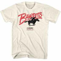 USFL Mens Short Sleeve T-Shirt Natural Tampa Bay Bandits Crewneck Graphic Tee