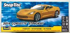 REVELL 1982 Corvette Sting Ray 2014 1/25 Snap TITE Kit Modello Nuovo Con Scatola